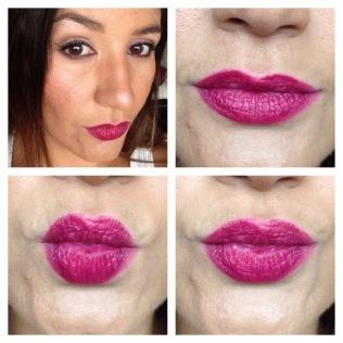 gosh velvet touch lipstick night kiss and lipliner raspberry dream