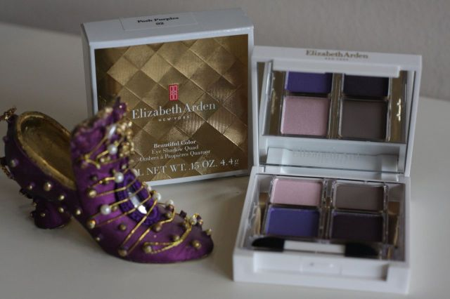elizabeth arden Beautiful Color Eye Shadow Quad – Posh Purples