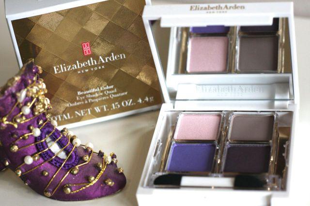 elizabeth arden Beautiful Color Eye Shadow Quad – Posh Purples