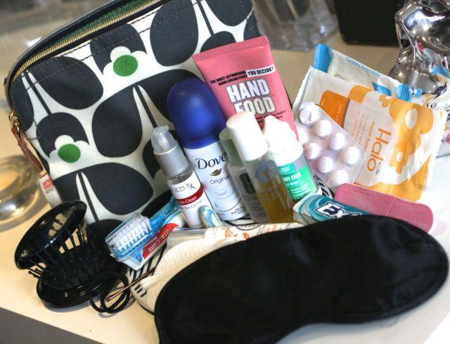 my travel beauty bag