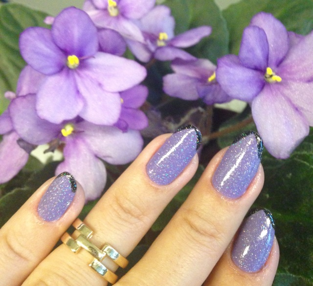 Make Up Gallery Parma Violet nail polish