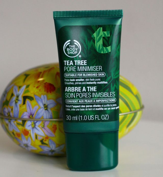 the body shop tea tree pore minimiser review - somanylovelythings