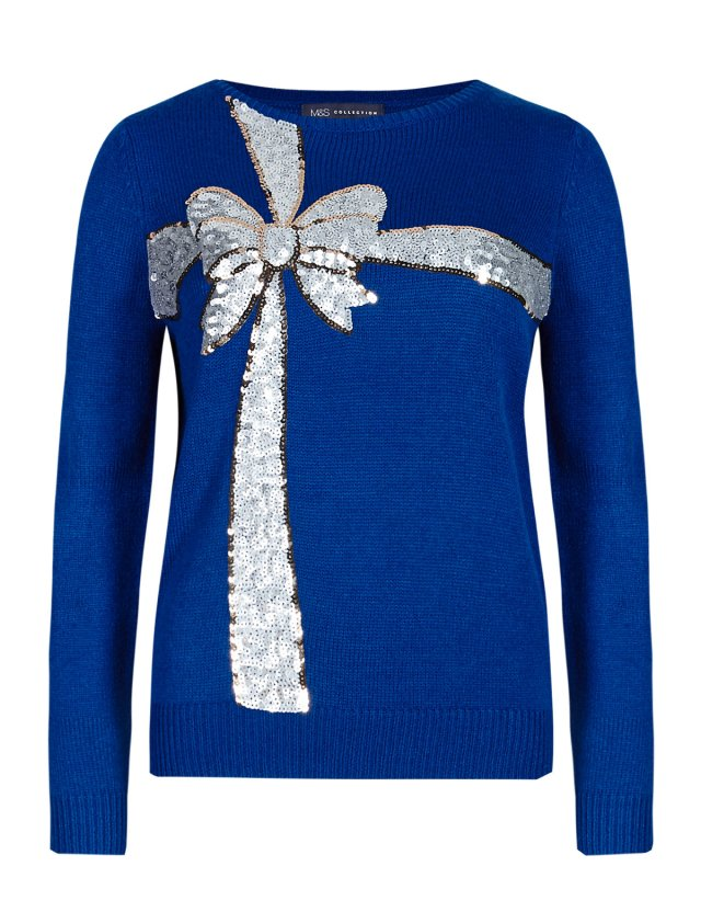 m&s xmas jumper