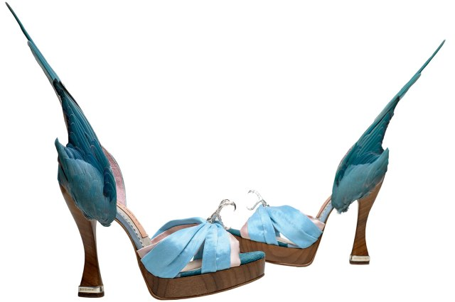 Caroline  Groves Parakeet shoes, 1959