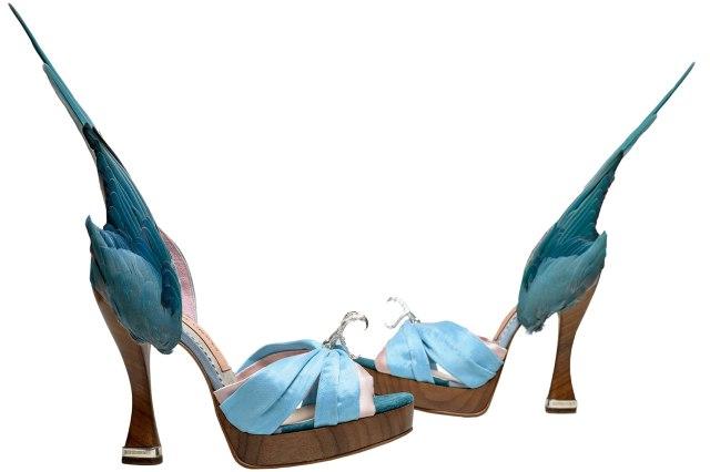 Caroline  Groves Parakeet shoes, 1959