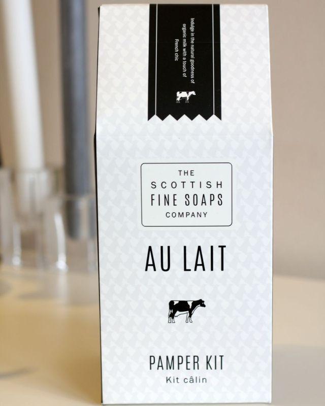 Scottish Fine Soaps Au Lait Pamper Kit