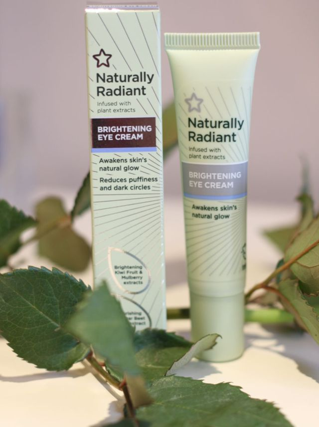 Superdrug Naturally Radiant Brightening eye cream
