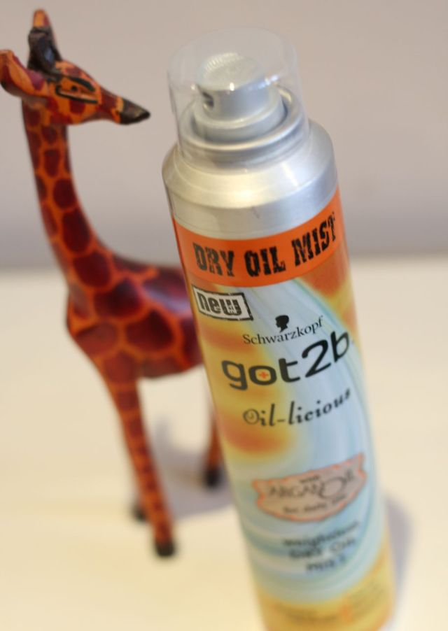 Schwarzkopf Got2b Oil-licious Weightless Dry Oil Mist