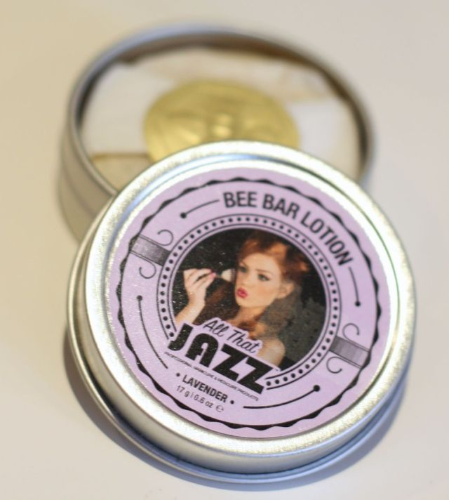 All That Jazz Bee Bar Lotion