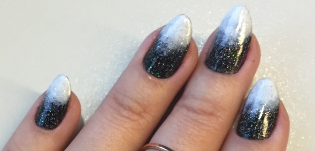 black and white nails - somanylovelythings