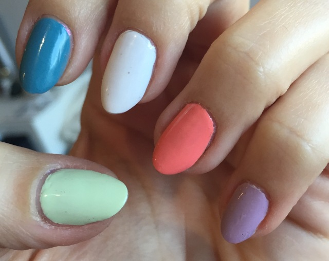 GOSH SS15 nail colour - somanylovelythings