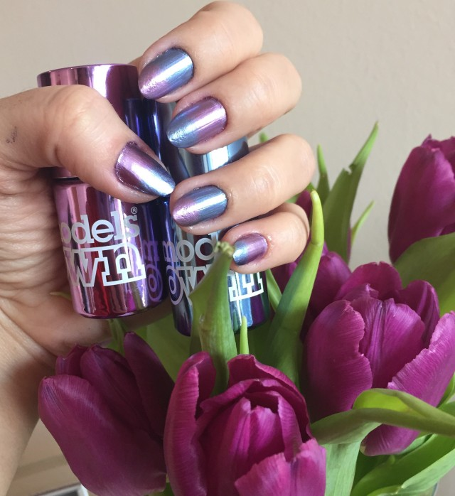 models own colour chrome mauve and indigo - somanylovelythings
