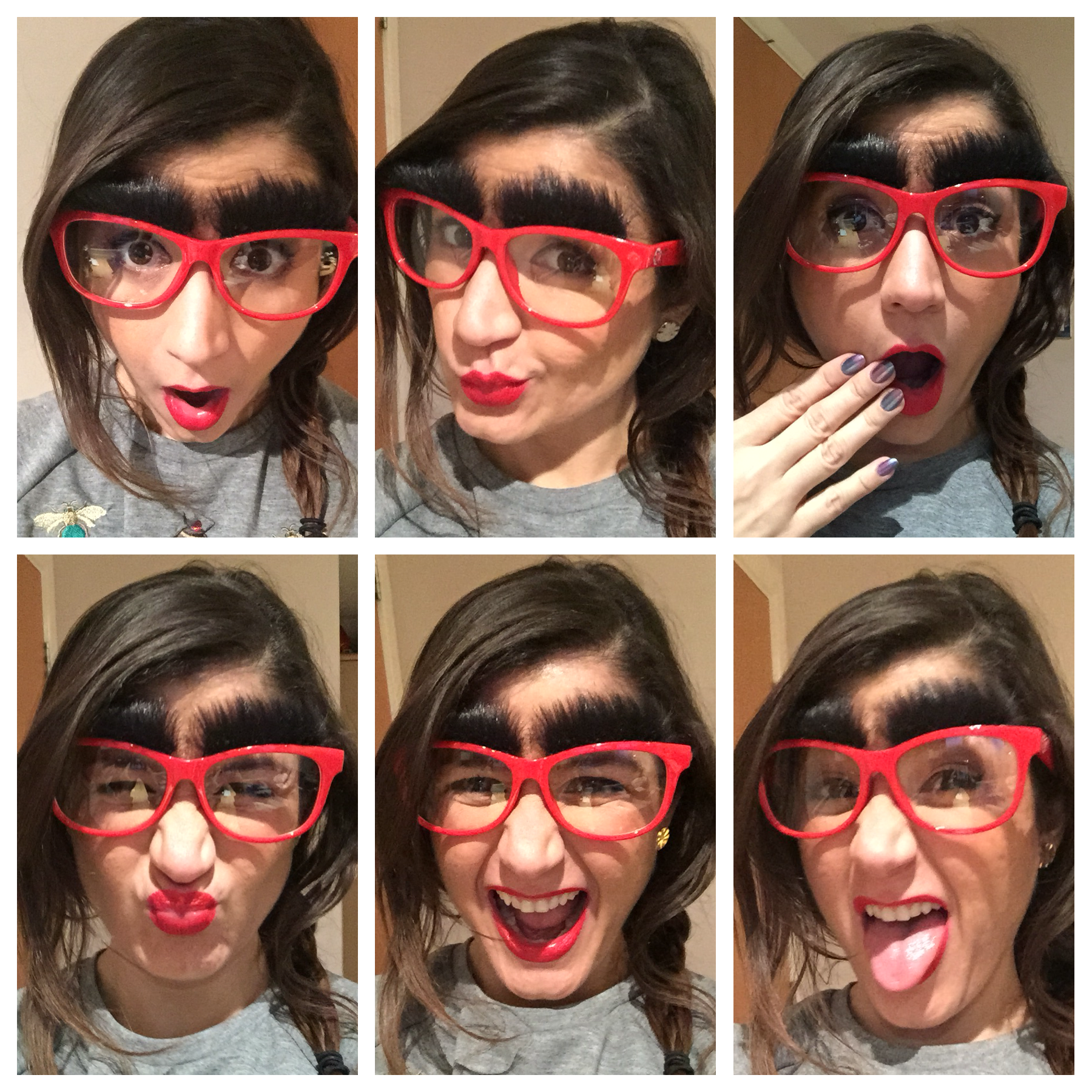 a329597277 Specsavers Red Nose Day Glasses for Comic Relief – Make your Face ...