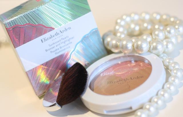 elizabeth arden Sunkissed Pearls Bronzer and Highlighter