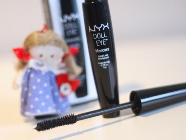 nyx doll eye mascara review