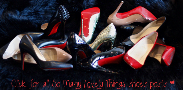 christian louboutin shoes- somanylovelythings