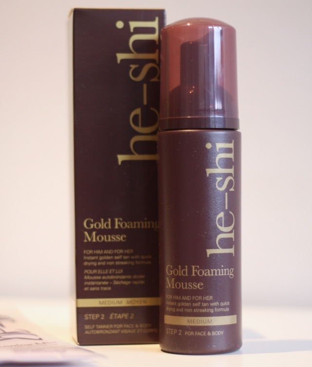 HeShi Gold Foaming Mousse