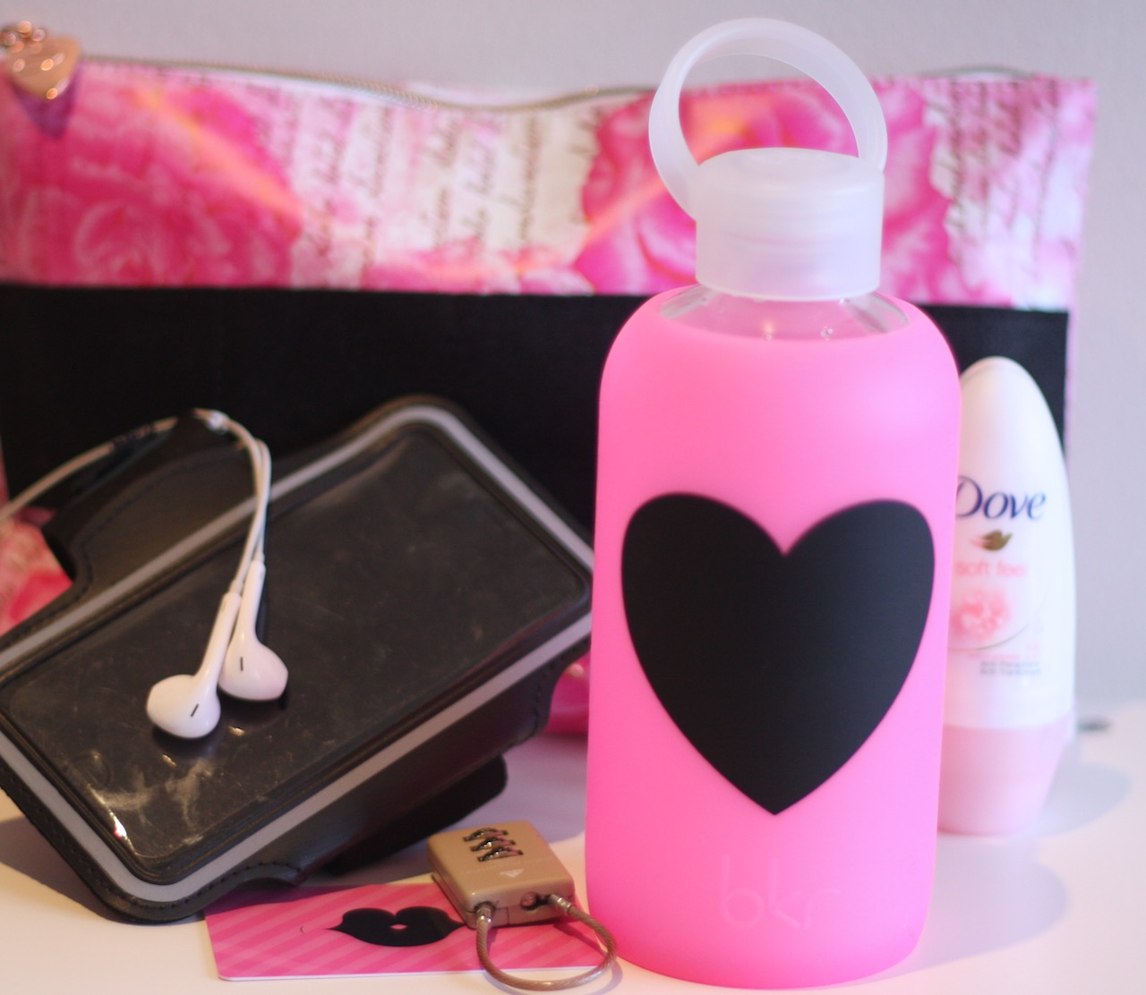 my gym friend the bkr glass water bottle review so many lovely things. Black Bedroom Furniture Sets. Home Design Ideas
