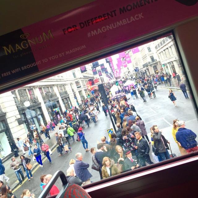magnum pink and black regent street