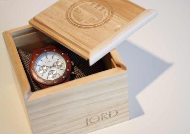 JORD Sidney wood watch