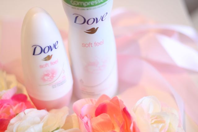 dove soft feel deodorant