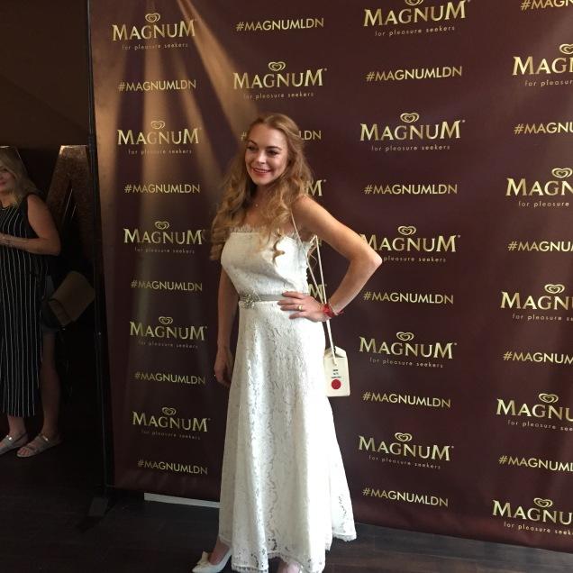 magnum pleasure store, london, lindsay lohan
