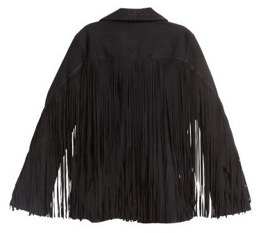 hm_fringed jacket