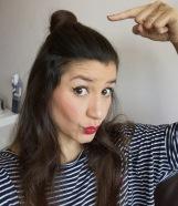 hair half-bun - hun - dani somanylovelythings