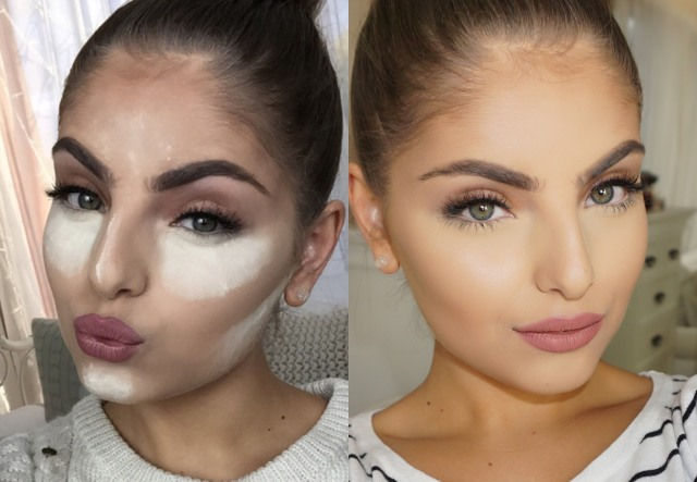 The beautiful MUA and vlogger Heidi Hamoud nails baking - Google her YouTube vid!