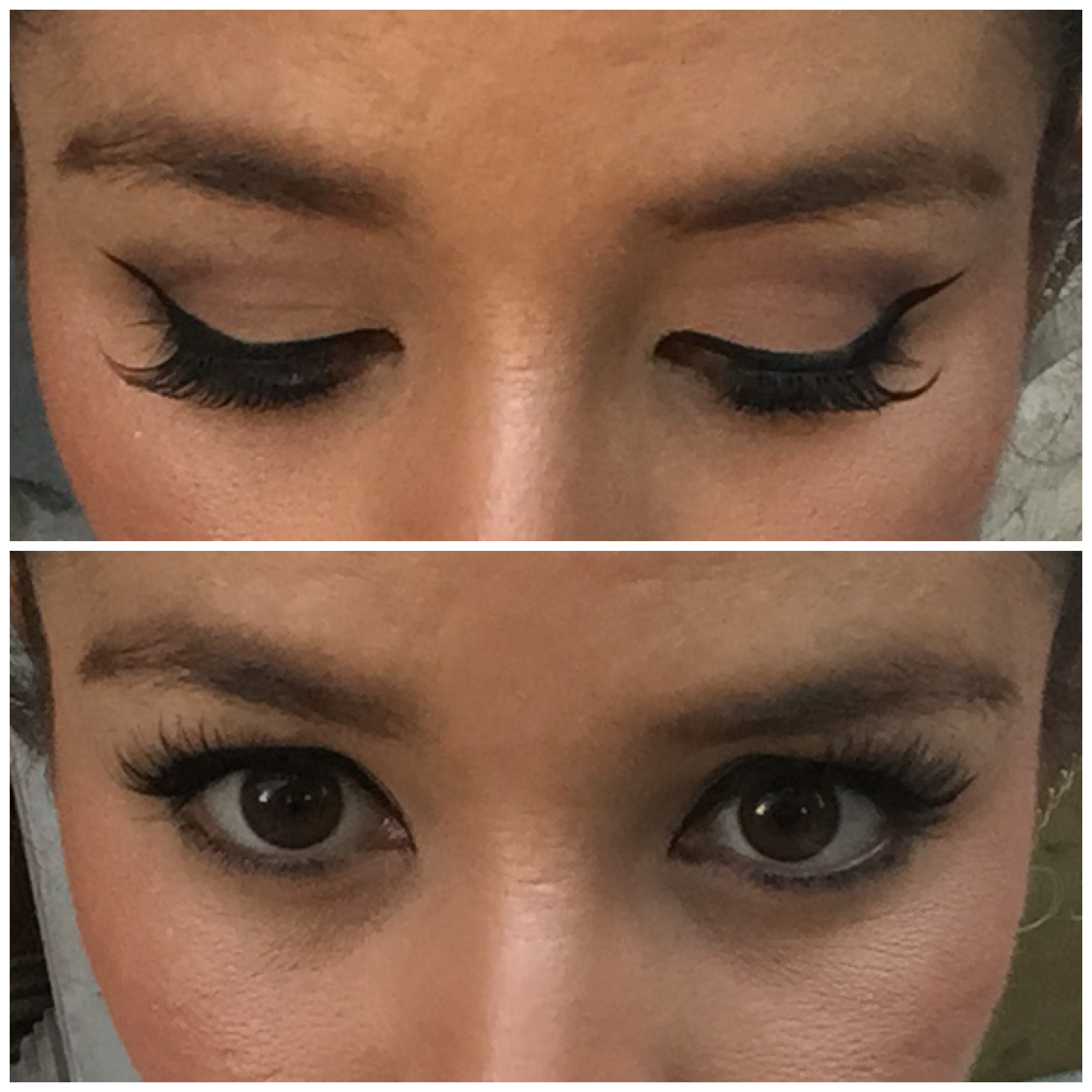 fb552a7a9d9 Now, I'm not sure I mentioned before, but the glue that comes with the Eylure  lashes is amazing – easy application mini wand and all night hold.