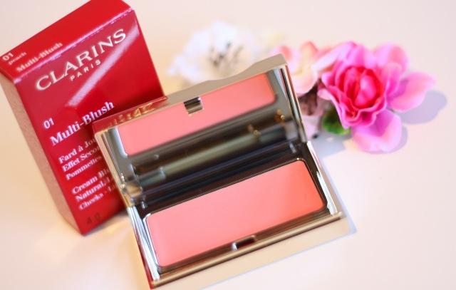 clarins multi blush