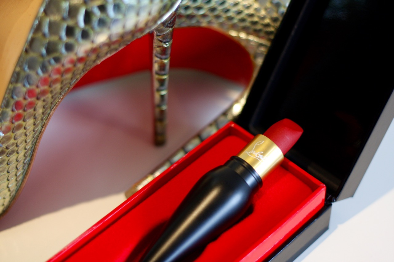Red Soles For Your Lips The Louboutin Rouge Velvet Matte Lipstick