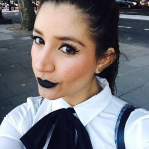 black lipstick somanylovelythings