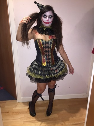 halloween scary clown - somanylovelythings