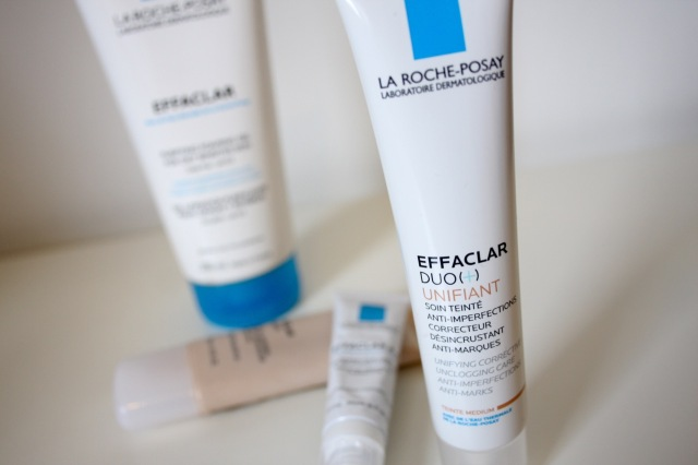 la roche posay effaclar so many lovely things. Black Bedroom Furniture Sets. Home Design Ideas