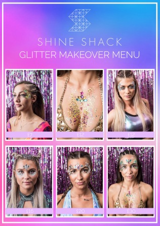 shine-shack-glitter-makeuover-menu