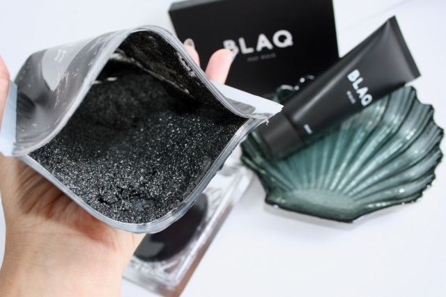 blaq face mask instructions