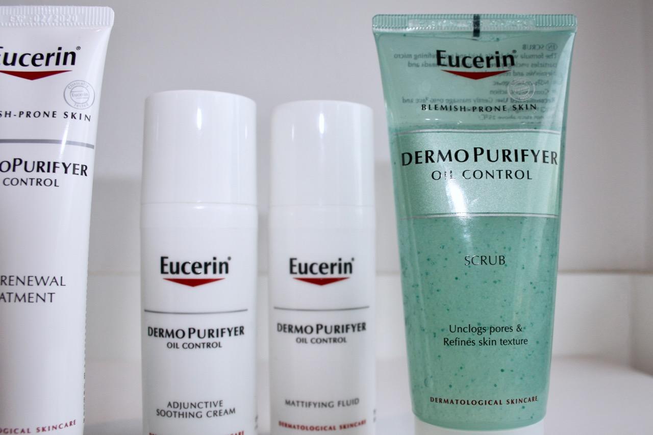 eucerin dermopurifyer oil control recension