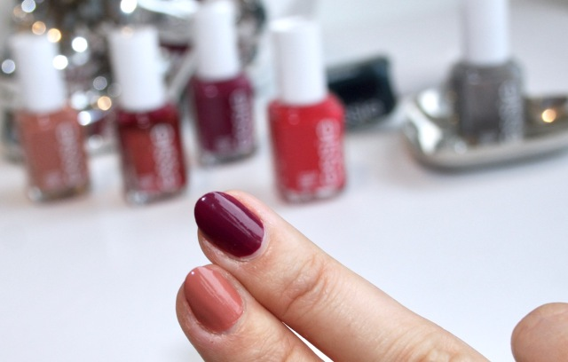 essie nail polishes in new year, new hue and suit & tied