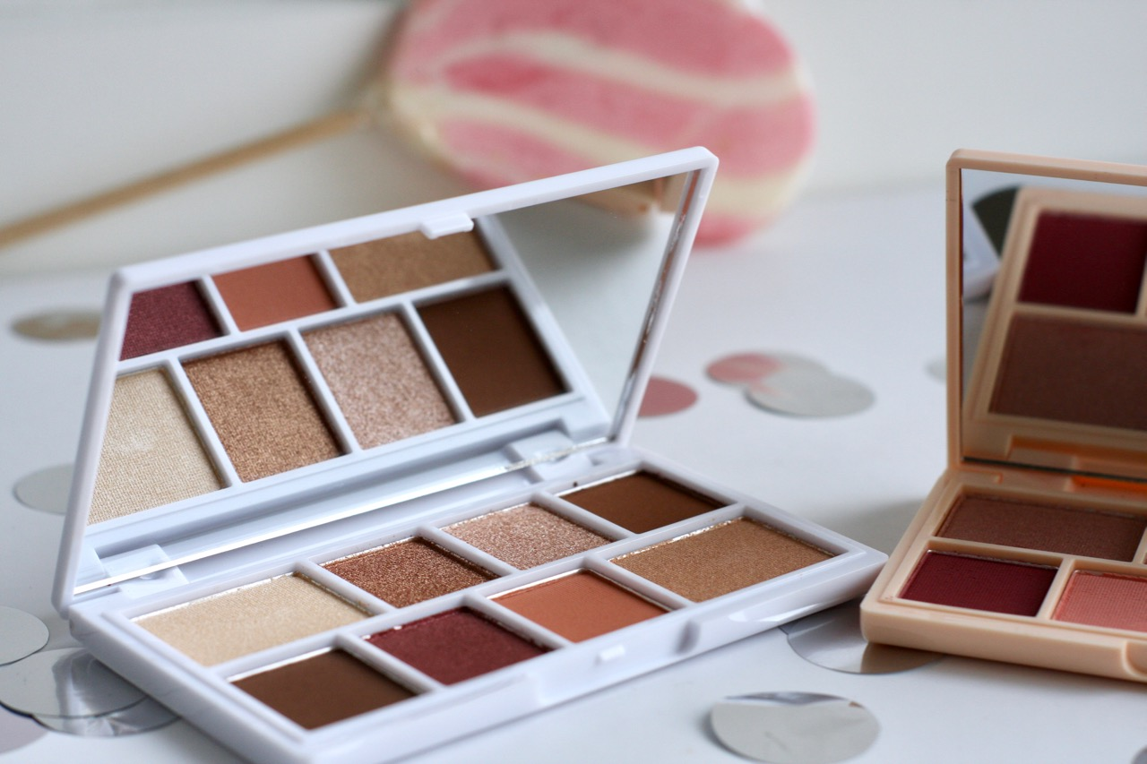 I heart revolution nudes mini chocolate eyeshadow palette