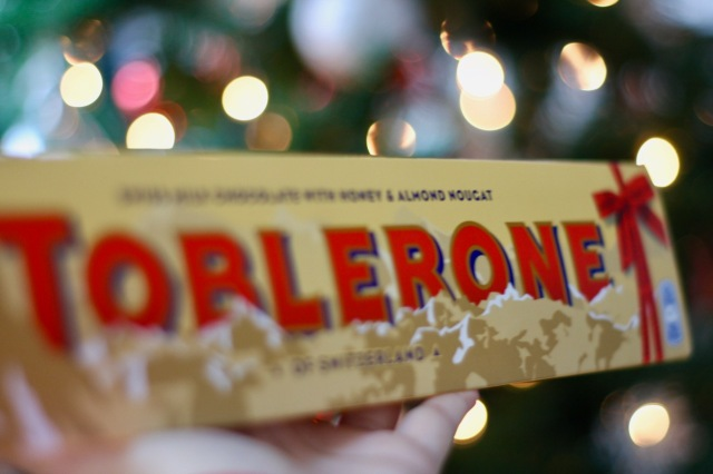 Toblerone Christmas gifts secret santa