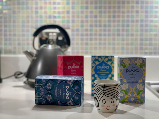 Pukka teas, a relaxing selection